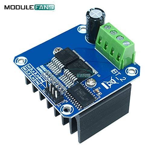Doppel BTS7960 B BTS7960B DC 43EIN Schritt Motor TreiberModul H-Bridge PWM Modul für Arduino Smart Car