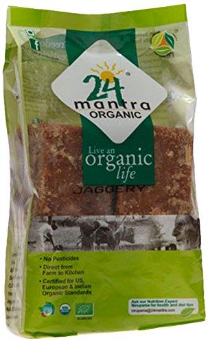 24 Mantra Organic Jaggery, 1kg