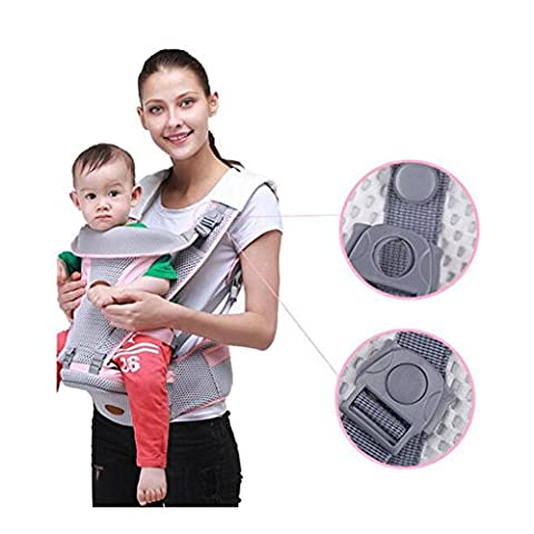 X&Y Breathable Multifunction Adjustable Straps Waist Stool Safety Belts Blue , pink