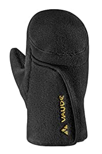 VAUDE Kinder Handschuhe Kids Small Fleece Gloves, black, 3, 04036
