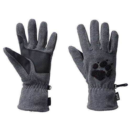 Jack Wolfskin Damen Handschuhe Paw, grey heather, M, 19615-6110003