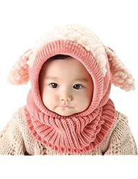 Yuson Girl Bufandas del Bebé, Bebé Unisex-caliente Cachorro Puppy Bufanda Mantón Bebé Infantil Smart Hat