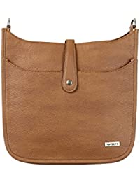 Bern Tan Color Stylish PU Sling Bag For Women
