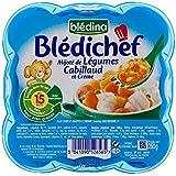 Blédina Chef De La Morue Et Légumes (15 Mois) 250G - Paquet de 4