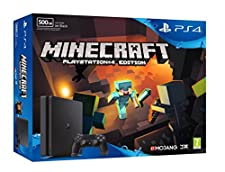PlayStation 4 (PS4) - Consola De 500 GB + Minecraft