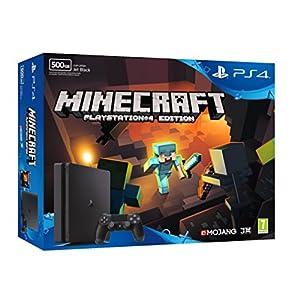 PlayStation 4 (PS4) – Consola De 500 GB + Minecraft