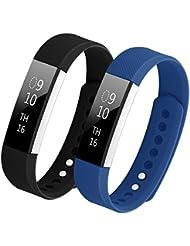 Bepack Fitbit Alta HR Correa,TPU Soft Silicona Adjustable de Reemplazo Strap Pulsera para Fitbit Alta Heart Rate