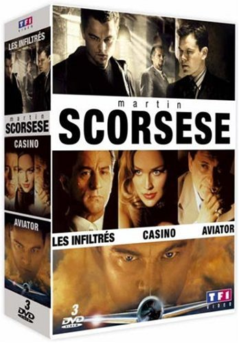 Martin Scorsese - Coffret - Les inflitrés + Aviator + Casino
