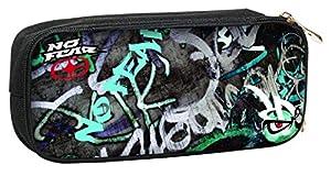 FACTORYCR- Portatodo Wall Art no Fear 10x23x6 cms Estuche,, 23x10x6 (347-41141)