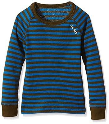 Odlo Kinder Jungen Shirt Long Sleeve Crew Neck Warm Kids