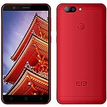 5.5 Pulgadas Smartphone 3D 4G - Elephone P8 Teléfono Móvil Pantalla FHD MT6750T Octa-core 4GB de RAM ROM de 64 GB Cámara Frontal 16MP Cámaras Traseras 13MP + 2MP 4050mAh Desbloqueo de Huella Digital