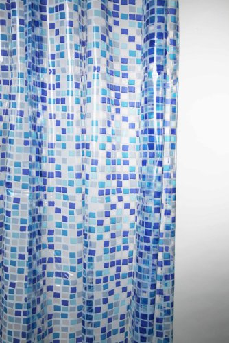 Shower Curtains Peva Mosaic Shower Curtain