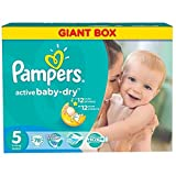 Pampers Windeln Active Baby Dry Junior Gr.