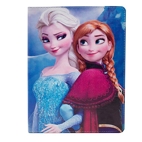I-CHOOSE LIMITED Apple iPad 2,3,4 Folio La Reine des Neiges Frozen Étui/Cuir de Protection en PU Intelligent Coque Flip/Anna & Elsa