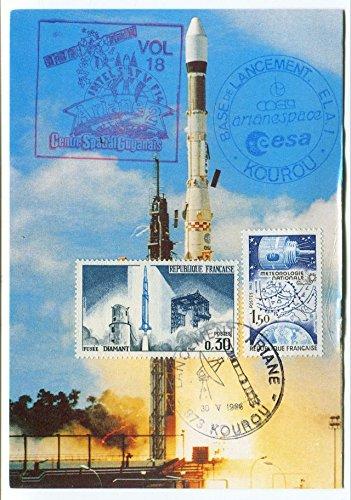 1986-vol-18-intelsat-v-f14-centre-space-gutanais-base-lancement-kourou-ariane