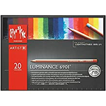 Caran d-Ache Luminance 6901 Multi 20pieza(s) laápiz de color - Lápiz de color (20 pieza(s), Retráctil, Multi, Madera, Multicolor, Suiza)