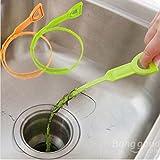 PANGUN Praktische Kunststoff Drain Pipe Cleaner Reinigungswerkzeug Gadget
