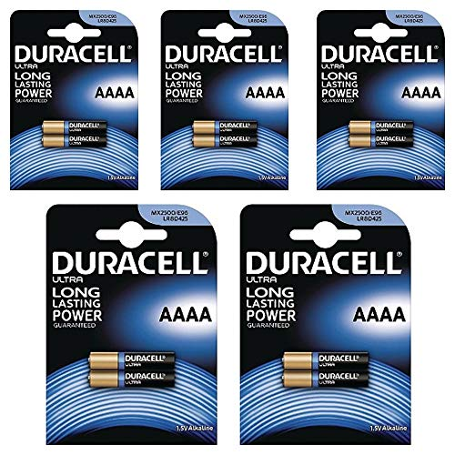 DURACELL 7030990 BATTERY- ULTRA M3 AAAA 1 5V PK10 - Pack of 10
