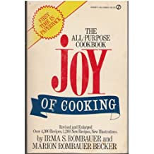 The Joy of Cooking: Single-Volume Edition (Plume) by Rombauer, Irma S., Becker, Marion Rombauer (1973) Taschenbuch