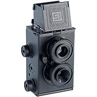 Somikon - Cámara réflex de doble lente