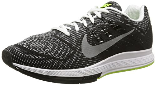 Nike Zapatillas Air Zoom Structure 18 Negro/Plateado 42.5