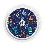Freestyle - Adhesivo de vinilo con sensor libre (Cobalt Floral)