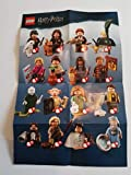 Unbekannt Lego -Alle 22 Verschiedene Harry Potter Mini Figuren OVP + Polybag Education 2000416