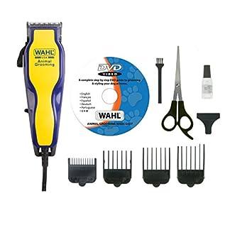 Wahl 9269-810 Multi Cut Mains Dog Clipper Set & Instructional DVD Blue / Yellow Wahl 9269-810 Multi Cut Mains Dog Clipper Set & Instructional DVD Blue / Yellow 51olbez0vcL