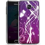 Samsung Galaxy A3 (2016) Housse Étui Protection Coque Lumières Vrilles Motif
