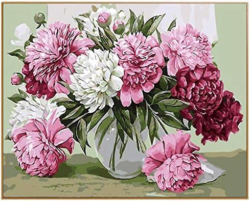 WACYDSD Puzzle Adulte 1000 Pièces Puzzle 3D Belle Fleur Rouge Photo DIY Wall Art Home Decor pour Le Salon | Durable Service
