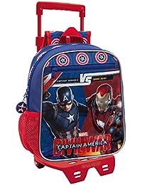 Marvel 47221M1 Versus Mochila Infantil, 6.44 Litros, Color Azul