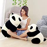 Msfi Soft Plush Imported Fabric Stuffed Panda Animal Toy in Black and White Color Size 32 cm in Gift for Your Kids Birthday