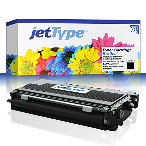 TN-2000 Toner kompatibel für Brother HL 2030 / HL 2040 / MFC...