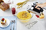 from Aicok Aicok Professional Hand Mixer, 300W Electric Mixer 6 Speed with Turbo Button Includes Beaters, Dough Hooks