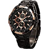 SWISSTYLE Analogue Men's Watch (Black Dial Black Colored Strap)