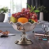 ETH Crepe Ghiaccio Continentali Piatto di Ceramica della Frutta Frutta Secca Composta Piatto Creativo Ceramica Ferro 26 * 26 * 18 Centimetri Beautiful
