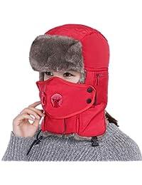 Amazon.it  Rosso - Cappelli aviatore   Cappelli e cappellini ... da31f0453435