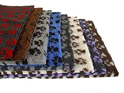 "PnH Veterinary Bedding ® NON SLIP - Ribbed Rubber Backing Rectangle,100cm x 76cm (40"" x 30"") - 16 Different Designs and Colours from Pet n Home"