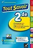 Collection Chouette: Tout Savoir 2de