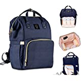Baby Diaper Bag Backpack Nursing Bags Diaper Maternity Backpack, Robustrion Stylish Waterproof Multifunctional Diaper Backpack/Handbag, Travel Nappy Tote Bag Large Size (20 x 18 x 40 cms) - Blue