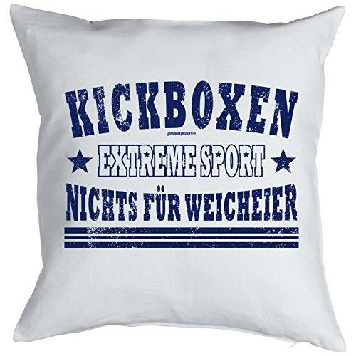 Kissen Mit Sport Motiv   Kickboxen Extreme Sport   Nichts Für Weicheier    Zierkissen   Couch