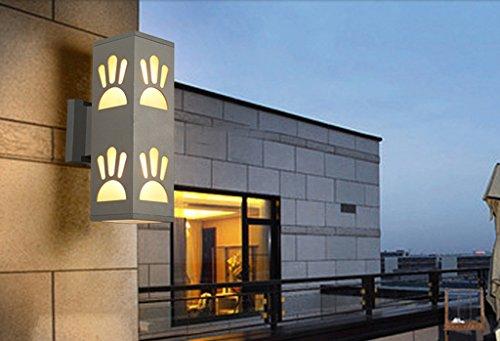Lampe étanche Outdoor Outdoor Creative Lampe de chevet Corridor Escalier Balcon Retro Fer Industrial Applique