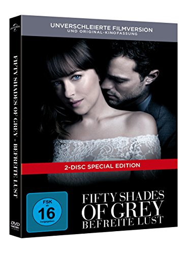 Fifty Shades of Grey – Befreite Lust Limited Digibook [2 DVDs] - 2