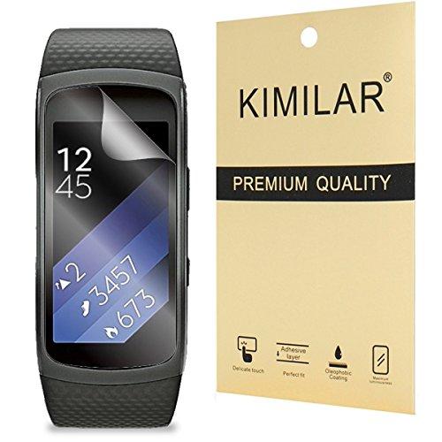 Samsung Gear Fit2 Screen Protector, KIMILAR (6-Pack) Screen Protector for Samsung Gear Fit2 (Gear Fit 2) Clear HD Anti-Bubble Film Test