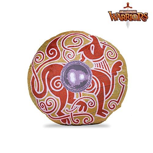 Viking Krieg Hound pillowfight Warriors® Soft Play shield historisch korrekte Soft Play Viking Spielzeug Waffen und Schilde. Ideal für Innen Spaß und sicher Kissen bekämpft, um Bett Zeit Fühlen aufregende, bevor eine gute Nachtruhe. (Fasern Spaß)