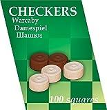Kukuryku kukuryku0253100-squares Holz Checkers Board Game