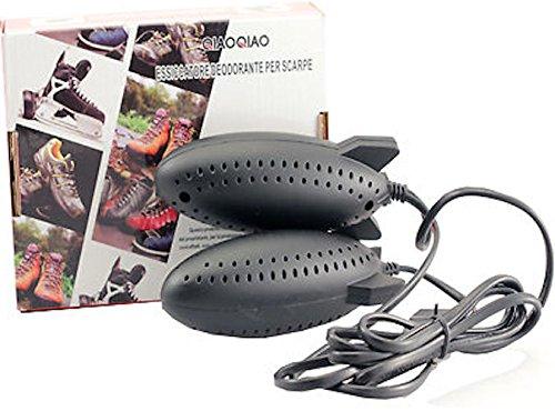 Coppia asciuga scarpe essiccatore deodorante sterilizzatore deumidificatore elettrico - Anti odori elimina umidità per scarpe scarponi scarpini doposcì