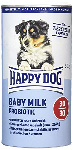 Happy Dog 2934 Hundemilch-Pulver Baby Milk Probiotic, 500 g, M