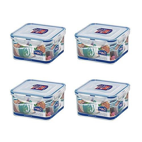Lock & Lock, ohne BPA, Wasser eng, Food Container, Vakuum-Kaffeemaschine, 40-oz, 4Stück, hpl822d - Vakuum-container