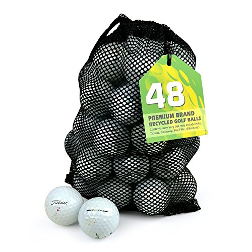 TITLEIST Pro V1 x Golfbälle, Klasse B, See, 48 Stück, weiß